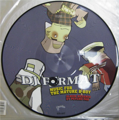 DJ Format - Music for the Mature B-Boy - Amazoncom