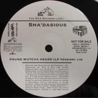 Sha'dasious Phunk Wutcha Heard