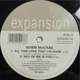 Leah McCrae - All This Love That I'm Giving