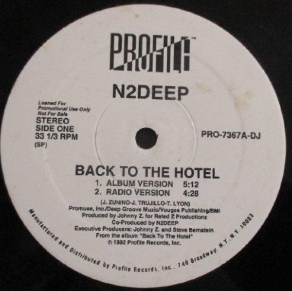 画像1: N2Deep / Back To The Hotel - The Recommendable Items - (1)