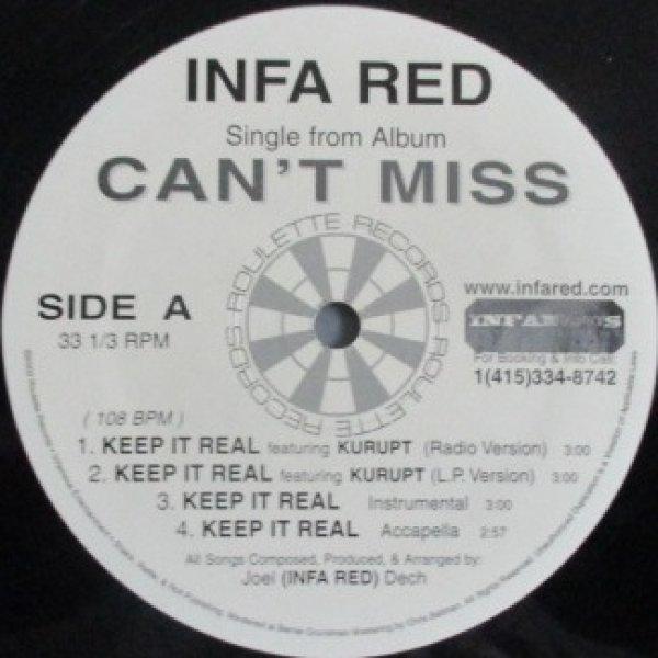 画像1: Infa Red / Keep It Real ft Krupt cw I Like It (1)
