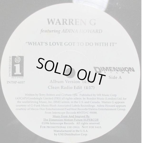 画像1: Warren G / What's Love Got To Do With It ft Adina Howard - US Promo Only - (1)