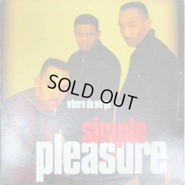 画像1: Simple Pleasure / Where Do We Go - Promo Only LP Ver !!!! -  (1)