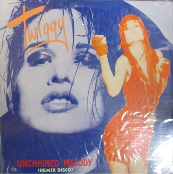 画像1: Twiggy / Unchained Melody Remix Disco - LP - Sealed!!! (1)