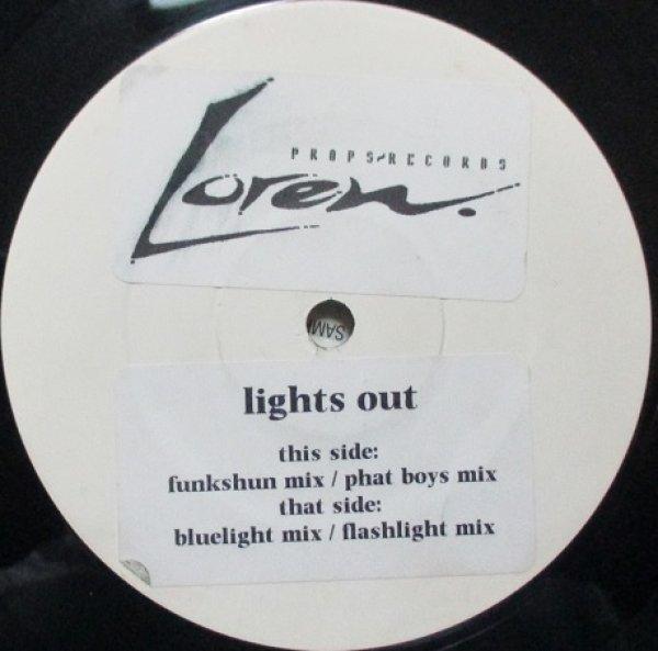 画像1: Loren / Litghts Out - UK Test Promo Only - (1)