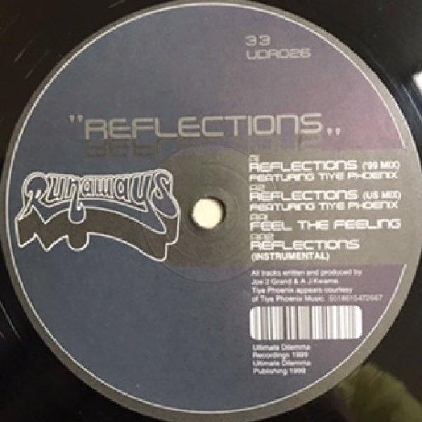 画像1: Runaways / Reflections , Feel The Feeling - UK Remix - (1)