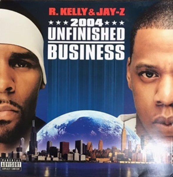 画像1: R Kelly and Jay-Z / Unfinished Business - LP - (1)